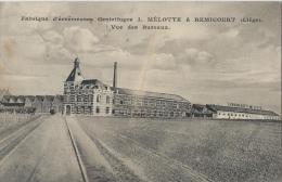 REMICOURT - Fabrique D'écrémeuses Centrifuges J. Mélotte - Vue Des Bureaux - Remicourt