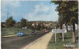 PONTHIERRY - Sur La Nationale 7 - La Traversée De La Ville - Saint Fargeau Ponthierry