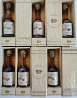 Lot De Bouteilles Miniatures 3 Cl Armagnac - Spirits