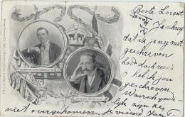Picture Postcard - Joseph Chamberlain & Alfred Milner - Politieke En Militaire Mannen