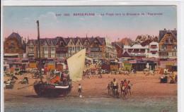 Berck- Plage : La Plage Vers La Brasserie De L'esplanade - Berck