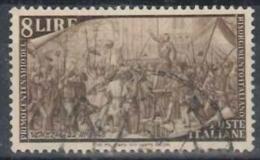 ITALIA REPUBBLICA - US 1948 (CATALOGO N.° 584) (2631) - 6. 1946-.. Repubblica
