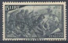 ITALIA REPUBBLICA - US 1948 (CATALOGO N.° 587) (2630) - 6. 1946-.. Repubblica