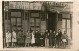 ESTAMINET - M.TESCAROT - HAUTRIVE - (Bières BOUILLET) - - Cafés