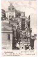 Constantinople - Yuksek-Calderim ( Galata ) - édit Au Bon Marché 116 + Verso - Turchia