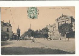 91 CORBEIL LA PLACE SALVANDY CPA BON ETAT - Corbeil Essonnes