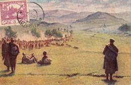 Legionaires Dans Les Monts Carpates  1915   Dessin - Czech Republic