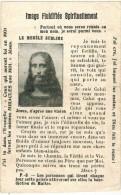 IMAGE PIEUSE HOLY CARD SANTINI :  Image Fluidifiée Spirituellement Le Monde Sublime Vérités à Méditer - Images Religieuses