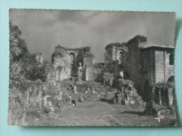 Abbaye De LANDEVENNEC - Dans Les Ruines De L'Eglise Abbatiale, Le Choeur Et Ses Fenêtres Romanes - Landévennec