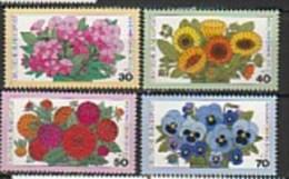 Fleurs De Jardin   753/756** - Ungebraucht