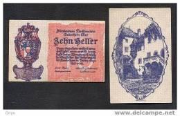 LIECHTENSTEIN - 10 HELLER 1920 - PICK. 1 - NEUF / UNC - Liechtenstein