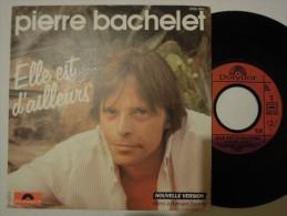 Pierre Bachelet - Elle Est D´ailleurs Verso De La Pochette Différent - Polydor 2056883 - France - Vinyl-Schallplatten