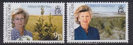 Falkland Islands 2000 Royal Visit / Princess Alexandra 2v ** Mnh (20487) - Falklandeilanden