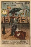 CPA CHARLOT A L EXPOSITION DE LIEGE 1930 Oblitérée Belgique Très Bon état - Humor
