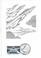 AVION   - Salon International De L´Aéronautique LE BOURGET - 14 Juin 1987 - Timbre Philatélique - Avions
