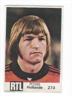 Autocollant Vignette Officielle Coupe Du Monde World Cup 1978 Football But Peters Nederland Pays Bas Holllande - Voetbal