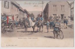 ARMEE ALLEMANDE - ECRITE DE MONT SAINT MARTIN EN 1905 - 2 SCANS - - Mont Saint Martin