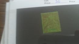 LOT 251007 TIMBRE DE COLONIE GUYANE OBLITERE N�36 VALEUR 20 EUROS