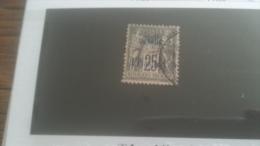 LOT 251019 TIMBRE DE COLONIE CAVALLE OBLITERE N�6 VALEUR 22 EUROS