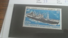 LOT 251024 TIMBRE DE COLONIE TAAF NEUF* N�29 VALEUR 37 EUROS