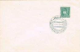 12197. Carta PRAHA (Checoslovaquia) 1935. Congreso Enseñanza Comercial - Checoslovaquia