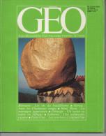 GEO N° 2 Avril 1979 Birmanie, Kenya, Mont Blanc, Lisbonne, Etats Unis - Géographie