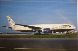 BOEING B 777       BRITISH AIRWAYS   G RAES - 1946-....: Modern Era
