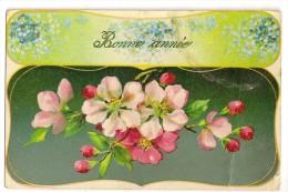 S2712 - Bonne Année - Fleurs - Nouvel An