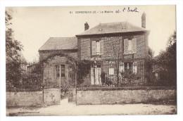 GONDREVILLE (Oise, 60) - La Mairie Et L'École - France