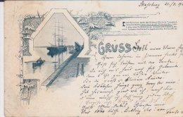 Gruss Aus Strassburg Strasbourg 1900 - Strasbourg