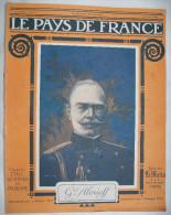 WW I :LE PAYS DE FRANCE:1916:PRINCE de SERBIE.TRIESTRE..CONFERENCE ALLIES.VERDUN.SALONIQUE.FRONT..Etc...........