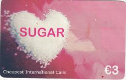 GREECE - Sugar By Anvatel Prepaid Card 3 Euro, Used - Grecia