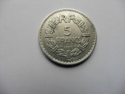 France  :  5  Francs 1950  Lavrillier - France