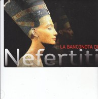 Egitto - La Banconota Di NEFERTITI, La Bellissima Regina D´Egitto, Da 5 Piastre Autentica E Fiordistampa - Aegypten
