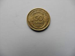 France  :50 Centimes 1933    Morlon - G. 50 Centimes