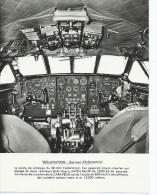 Photo Avion   SUD AVIATION  Le Poste De Pilotage Du SE 210 CARAVELLE - Aviation