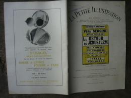 LA PETITE ILLUSTRATION 421 EN 1929  LE RETOUR DE JERUSALEM PAR MAURICE DONNAY - Theatre