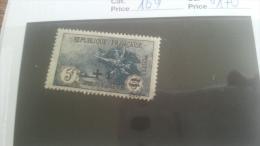LOT 251136 TIMBRE DE FRANCE NEUF* N�169 VALEUR 170 EUROS