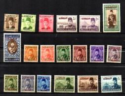 1948 Occupation Zone De Gaza, Timbres D'Egypte Surchargés, 1 / 19 Neuf Sans Gomme, Cote 75 € - Palästina