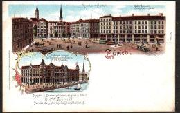 DB4050 - ZÜRICH - H&W. SCHMIDT SCHIRMFABRIK - ZH Zurich
