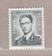 """1953 Nr 924P3** Zonder Scharnier,zegel Uit Reeks Koning Boudewijn """" Marchand """".Fosforescerend Papier. - 1953-1972 Glasses"""