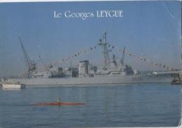 """CPM - TOULON - Escorteur D'escadre """"GEORGES LEYGUE"""" - Edition J.P.P.Azur - Guerre"""