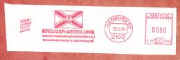 Ausschnitt, Hasler C18-2785, Kreuzer-Abteilung Seglerverband, 80 Pfg, Hamburg 1989 (75899) - BRD