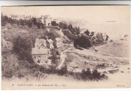 CPA Saint Cast, Les Falaises De L'Ile (pk16412) - Saint-Cast-le-Guildo