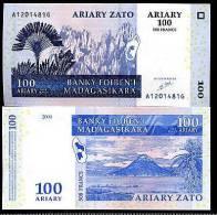 MADAGASCAR - Billet De Banque - 100 Ariary - Madagaskar