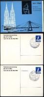 BERLIN PP19 D2/006a+b Privat-Postkarten KÖLNER DOM ** 1961  NGK 30,00 € - Postales Privados - Usados