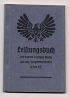 2. WK - Leistungsbuch Des Bundes Deutscher Mädel Und Des Jungmädelbundes In Der HJ - Documenti