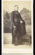 Photographie CDV 1860-70 Photographe J. Renaud Clermont Ferrand - Homme D' église - Photo Albuminée   Mars Phot5 - Photos