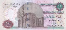 EGYPT 10 POUNDS EGP 2012 P-64c SIG/ OQDA #22 UNC */* - Egypte