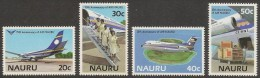 NAURU 1985 - Air Nauru - Set MNH - Nauru